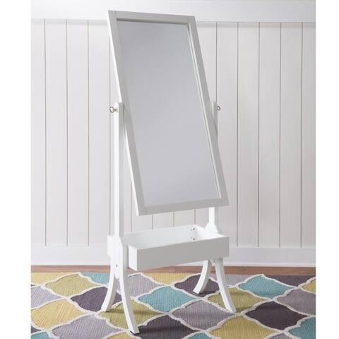 Holland Cheval White Rectangular Mirror