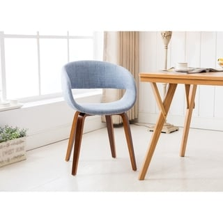 Porthos Homes Mid-century Style Dining Chair With Fabric Upholstery