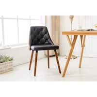 Porthos Homes Dining Chair With Diamond Tufted Design (Set of 2 )