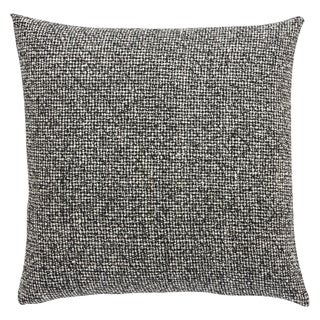 Milo Abstract Black/ White 22-inch Throw Pillow