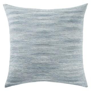 Phoenix Stripe Teal/ White 22-inch Throw Pillow