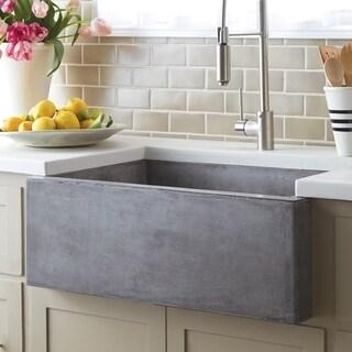 "Farmhouse 30-inch NativeStone Kitchen Sink - 30"" x 18"" x 10.25"""