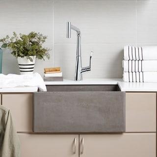 "Link to NativeStone Farmhouse 24"" Kitchen Sink - 24"" x 18"" x 10.25"" Similar Items in Sinks"