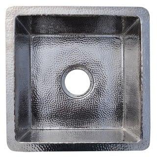 Cantina Hammered Polished Nickel Undermount Bar/ Kitchen Prep Sink