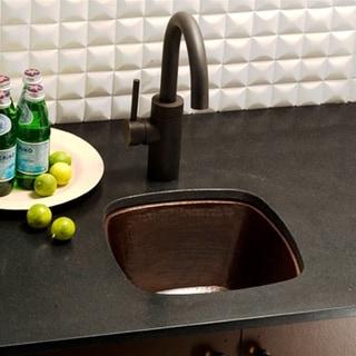 Rincon Antique Copper 13-inch Square Undermount Bar/ Prep Sink