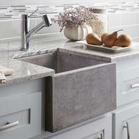 Ventana 15-inch NativeStone Concrete Bar/ Prep Sink