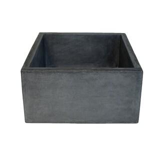 Ventana 15-inch NativeStone Concrete Bar/ Prep Sink