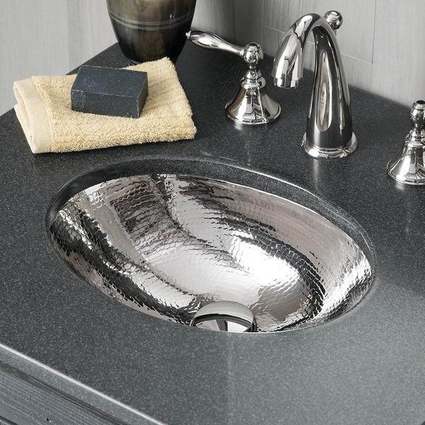 Shop Baby Classic Polished Nickel Undermount Bathroom Sink