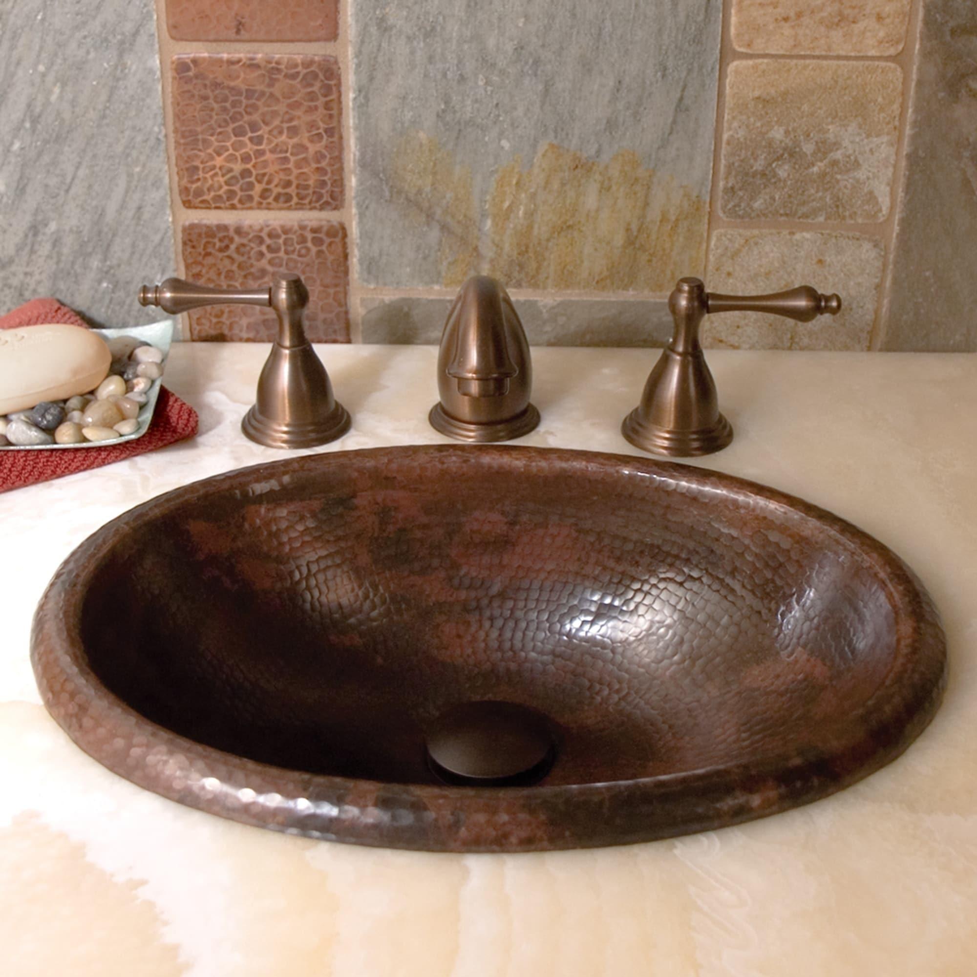 Drop In Oval Bathroom Sink