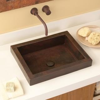 Tatra Antique Copper Drop-in Bathroom Sink