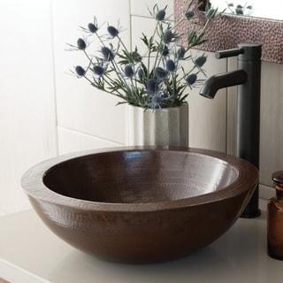 Laguna Antique Copper Vessel Bathroom Sink