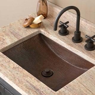 Link to Avila Antique Copper Undermount Bathroom Sink Similar Items in Sinks