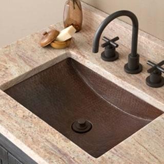 Avila Antique Copper Undermount Bathroom Sink