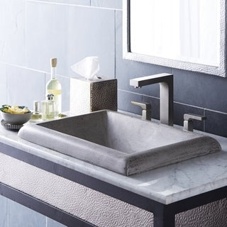 Montecito NativeStone and Concrete Drop-in Bathroom Sink
