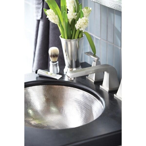 Shop Classic Brushed Nickel Undermount Bathroom Sink