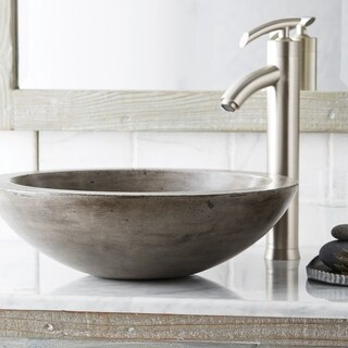 Morro 17-inch NativeStone Vessel Bathroom Sink