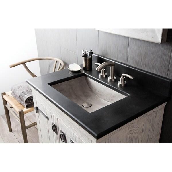 Shop Cabrillo 21-inch NativeStone Undermount Bathroom Sink ...
