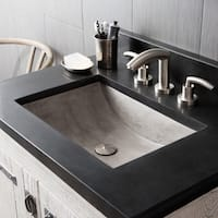 Cabrillo 21-inch NativeStone Undermount Bathroom Sink