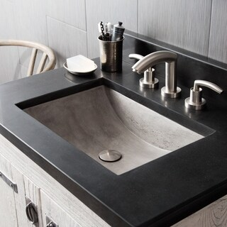 Cabrillo 21-inch NativeStone Undermount Bathroom Sink (3 options available)