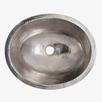 Classic Polished Nickel Undermount Bathroom Sink - Polished Nickel