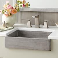 Nipomo New NativeStone Undermount/ Vessel Bathroom Sink