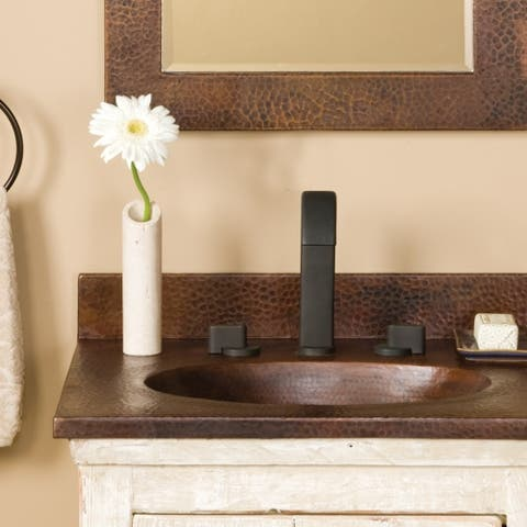 Sedona Antique Copper 24-inch Vanity Top with Integral Sink