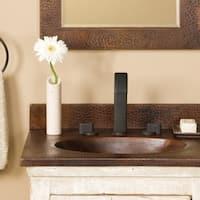 Sedona Antique Copper 24-inch Vanity Top with Integral Sink