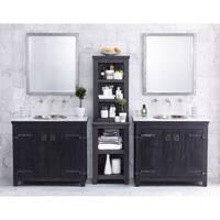 Americana Anvil 36-inch Reclaimed Wood Bathroom Vanity