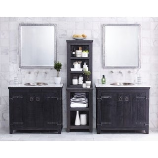 Americana Anvil 36-inch Reclaimed Wood Bathroom Vanity