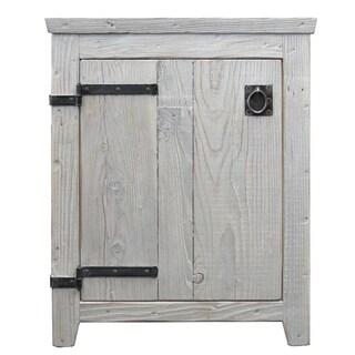 Americana Driftwood 24-inch Reclaimed Wood Bathroom Vanity