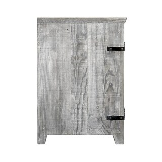 Americana Driftwood 36-inch Reclaimed Wood Bathroom Vanity