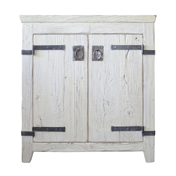 recycling cabinets kitchen shop americana whitewash 30 inch reclaimed wood bathroom 1761