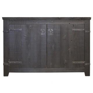 Americana Anvil 48-inch Reclaimed Wood Bathroom Vanity