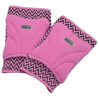 Tachikara ZIGZAG Beginner Volleyball Knee Pad- Lrg/XL-Pink