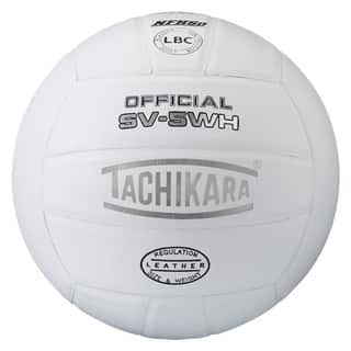 Tachikara SV5WH (NFHS) Interscholastic Top Grade Leather Volleyball|https://ak1.ostkcdn.com/images/products/18235491/P24375018.jpg?impolicy=medium