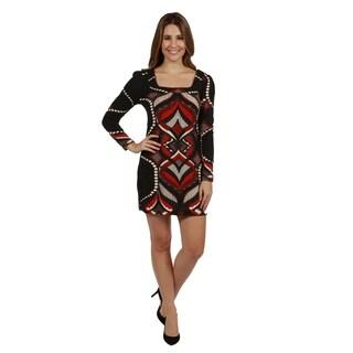 24/7 Comfort Apparel Gemma Sweater Knit Dress