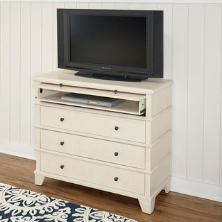 Powell Cameron Cream Wood Media Console