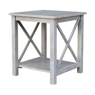 International Concepts Hampton Wood End Table