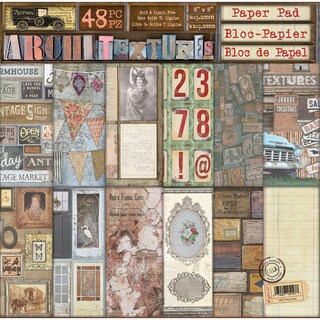 """7 Gypsies Double-Sided Paper Pad 8""""X8"""" 48/Pkg"""