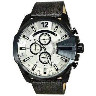 Diesel DZ4422 Mega Chief Men's White Dial Watch