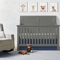 Avenue Greene Lyndon Graphite Grey 4-in-1 Convertible Crib