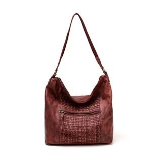 Lyra Vintage Leather Handbag - M
