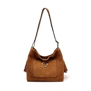 Cammi Suede leather Handbag - M
