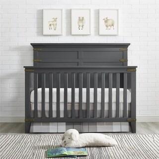 Avenue Greene Layton Slate Grey 4-in-1 Convertible Crib