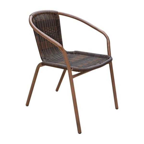 Panama Jack Café Set Of 2 Stackable Armchair