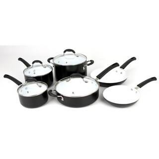 Oneida 10 Pc. Ceramic Cookware Set 35008