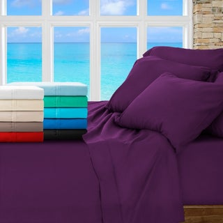 Luxury Ultra-Soft 1800 Platinum Sheet Set - Includes 2 Extra Pillowcases (More options available)
