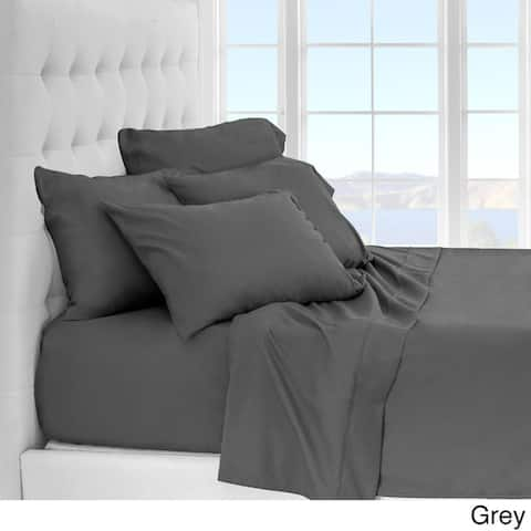 Luxury Ultra Soft 1800 Platinum Sheet Set Includes 2 Extra Pillowcases