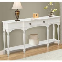 Powell Henley White Console Table