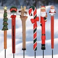 Christmas Pot Stakes - Set of 6